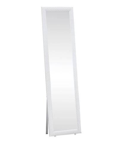 Laval stojace zrkadlo biela