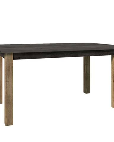Montana STW rozkladací jedálenský stôl dub lefkas tmavý