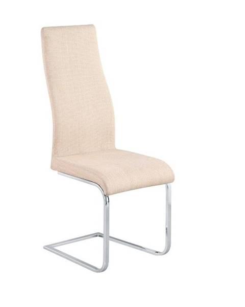 Kondela Amina jedálenská stolička béžová