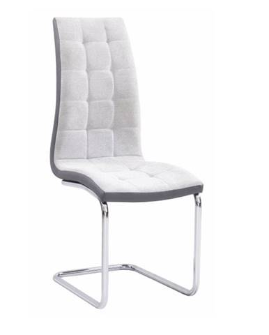 Saloma New jedálenská stolička sivá