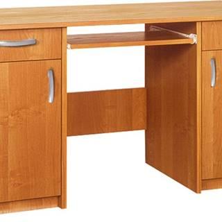 Duet pc stôl jelša