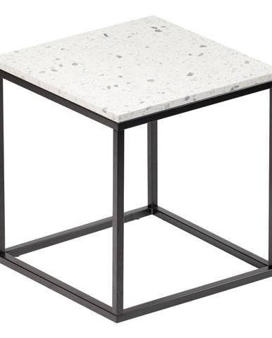 Konferenčný stolík s kamennou doskou RGE Bianco