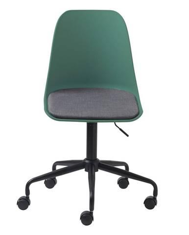 Zelená kancelárska stolička Unique Furniture