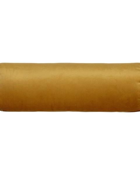 BePureHome Žltý vankúš BePureHome Spool, dĺžka 61cm