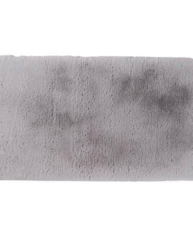 Luxusný shaggy koberec sivá 140x200 KAMALA LUX