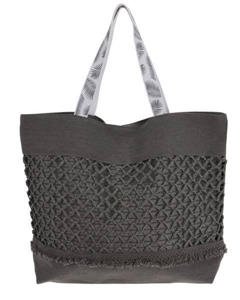 Curver Plážová taška Croche, sivá