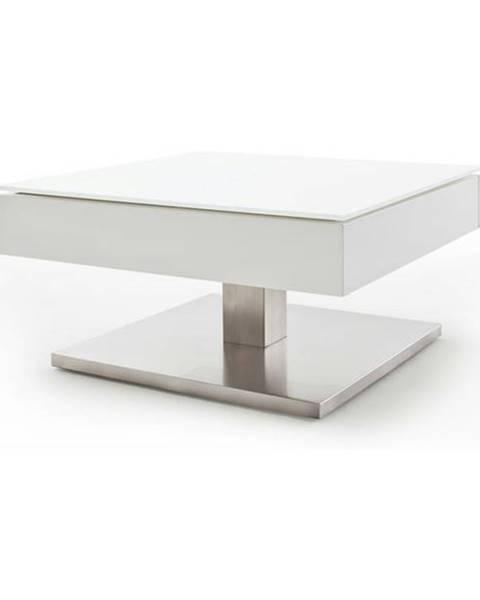 Sconto Konferenčný stolík KALEB biela