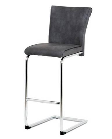 Barová stolička LUISA sivá