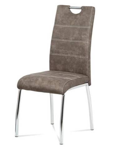 Jedálenská stolička GASELA hnedá