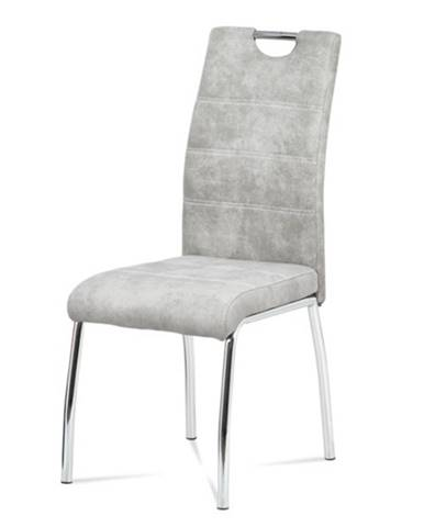Jedálenská stolička GASELA svetlosivá
