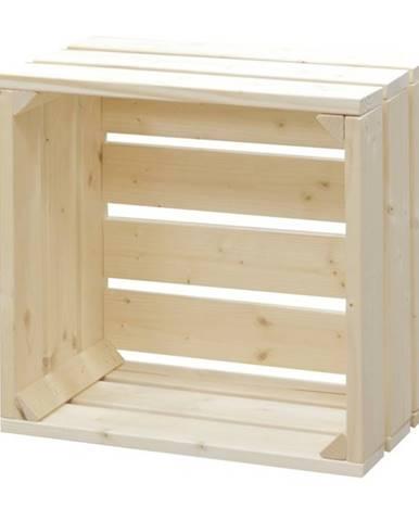 Nočný stolík PAULETTE prírodná/smrek