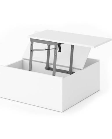 Výsuvný stôl REPLAY biela