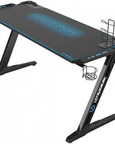 Herný stôl ULTRADESK SPACE XXL BLUE UDESK-SP-BU + ZDARMA podložka pod myš a hub