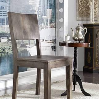 MONTANA Jedálenská stolička, palisander