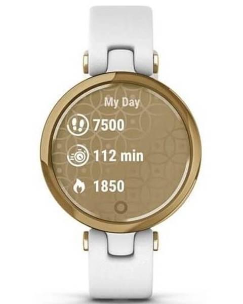 Garmin Inteligentné hodinky Garmin Lily Classic Light Gold/White Leather