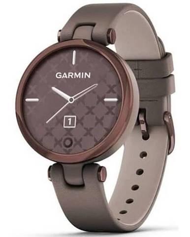 Inteligentné hodinky Garmin Lily Classic Dark Bronze/Paloma Leather