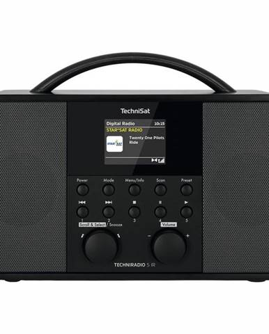Internetový rádioprijímač Technisat Techniradio 5 IR čierny