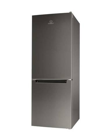 Kombinácia chladničky s mrazničkou Indesit LI6 S1E X nerez