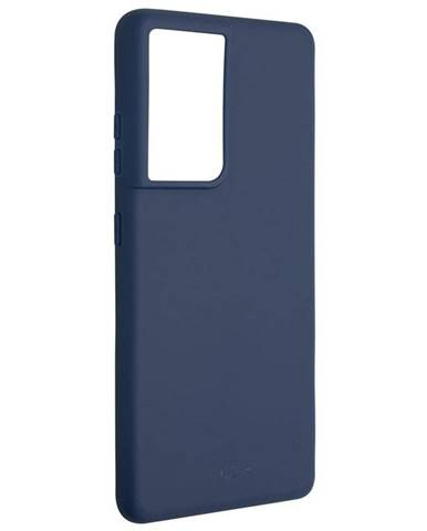 Kryt na mobil Fixed Story na Samsung Galaxy S21 Ultra 5G modrý