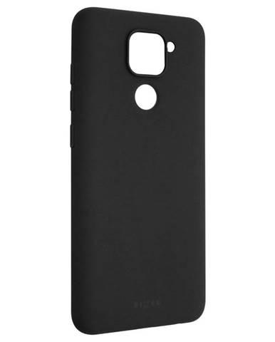 Kryt na mobil Fixed Story na Xiaomi Redmi Note 9 čierny