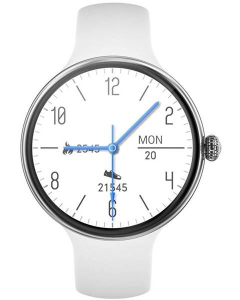 IMMAX Inteligentné hodinky Immax Lady Music Fit strieborné