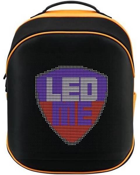 Prestigio Batoh na notebook  Prestigio LEDme MAX 25L čierny/oranžový