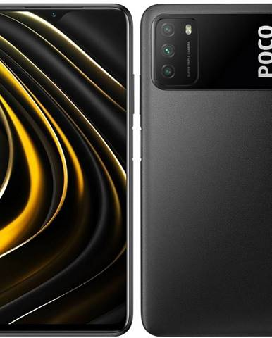 Mobilný telefón Poco M3 128 GB čierny