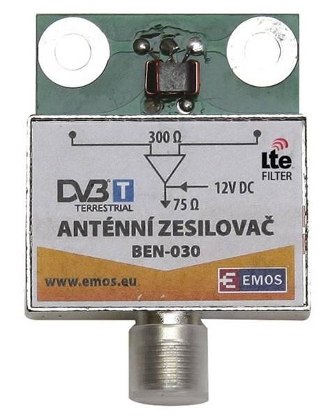EMOS Zosilňovač Emos anténní předzesilovač 30dB VHF/UHF