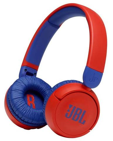 Slúchadlá JBL JR 310BT červená/modr