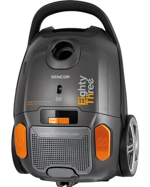 Sencor Podlahový vysávač Sencor SVC 8300TI čierny/oranžov