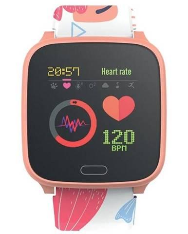 Inteligentné hodinky Forever IGO JW-100 oranžové