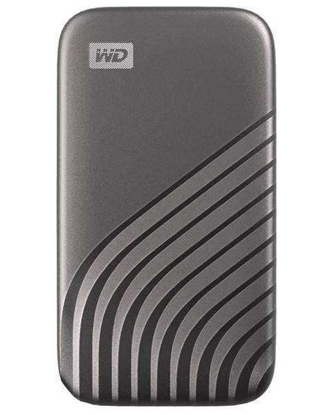 Western Digital SSD externý Western Digital My Passport SSD 1TB sivý