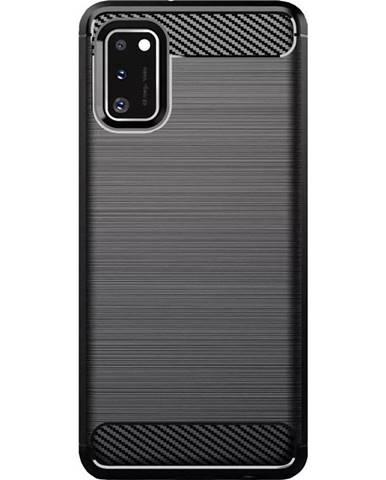 Kryt na mobil WG Carbon na Samsung Galaxy A41 čierna