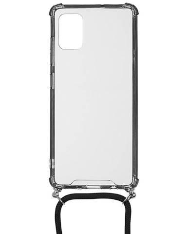 Kryt na mobil WG Crossbody na Samsung Galaxy A51 priehľadná