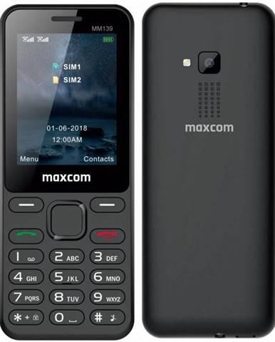 Mobilný telefón MaxCom MM139 čierny