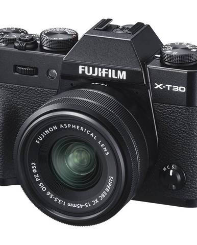 Digitálny fotoaparát Fujifilm X-T30 + XC15-45 mm čierny
