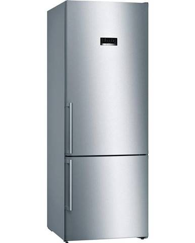 Kombinácia chladničky s mrazničkou Bosch Serie   4 Kgn56xidp nerez