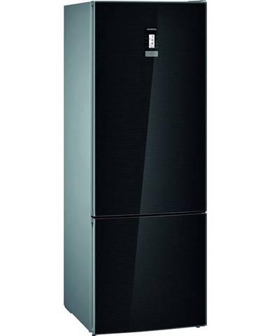 Kombinácia chladničky s mrazničkou Siemens iQ700 Kg56fsbda čierna