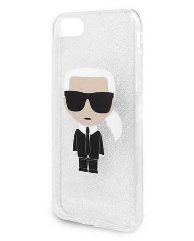 Kryt na mobil Karl Lagerfeld Glitter Ikonic na Apple iPhone 8/SE