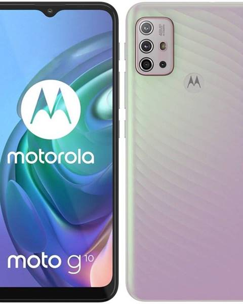 Motorola Mobilný telefón Motorola Moto G10 - Iridescent Pearl