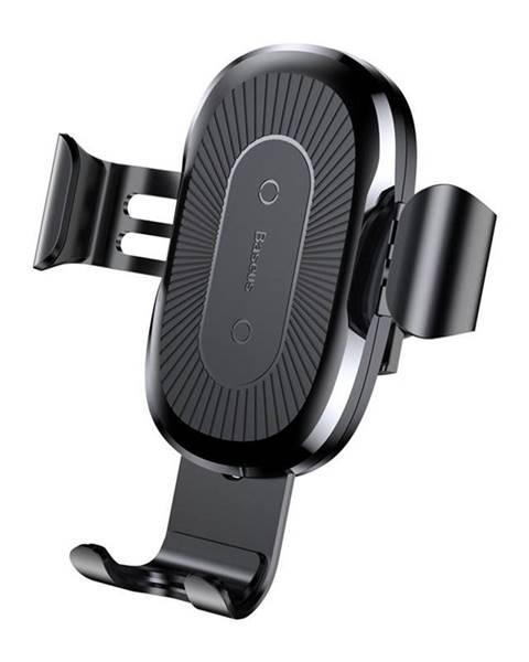 Baseus Držiak na mobil Baseus Wireless Charger Gravity Phone holder čierny