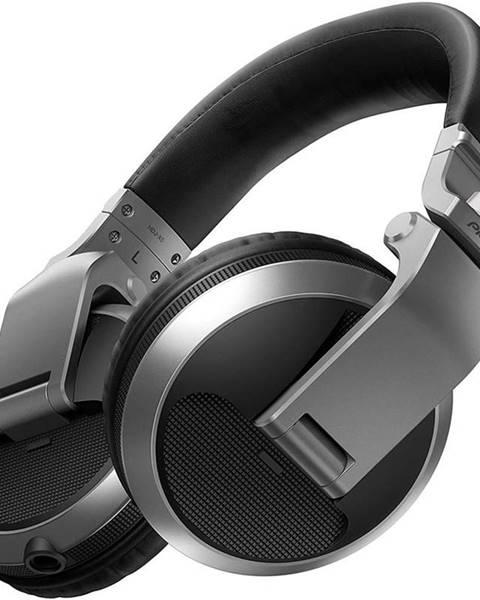 Pioneer Slúchadlá Pioneer DJ HDJ-X5-S strieborná