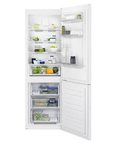 Kombinácia chladničky s mrazničkou Zanussi Znme32fw0 biela
