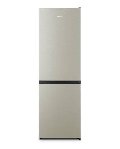 Kombinácia chladničky s mrazničkou Hisense Rb390n4ac2 nerez