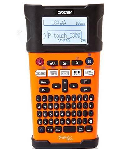 Tlačiareň štítkov Brother PT-E300VP s kufrem
