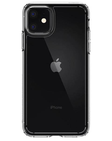 Spigen Kryt na mobil Spigen Ultra Hybrid na Apple iPhone 11 priehľadný