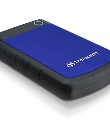 Externý pevný disk Transcend StoreJet 25H3B 4TB čierny/modrý
