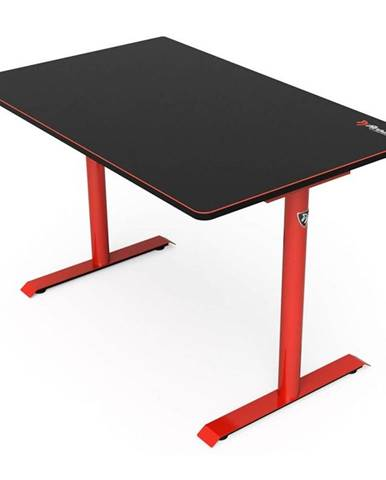 Herný stôl Arozzi Arena Leggero 114 x 72 cm čierny/červený