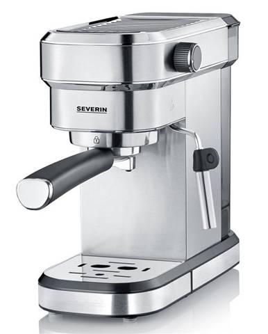 Espresso Severin KA 5994 strieborn