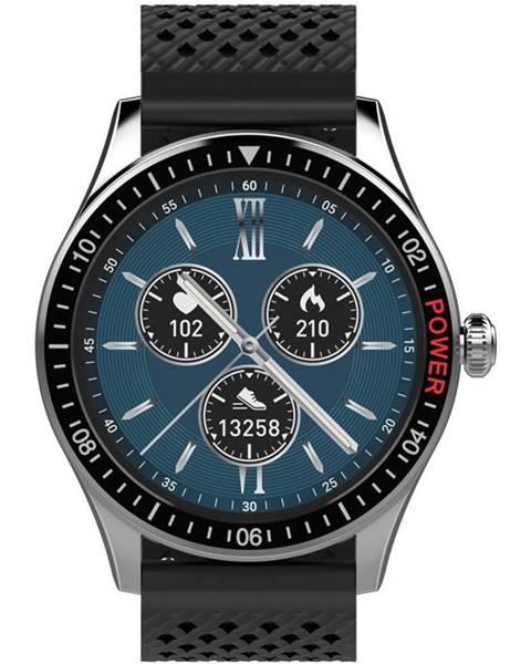 Carneo Inteligentné hodinky Carneo Prime GTR man čierne/strieborné